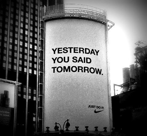 yesterday-you-said-tomorrow-nike